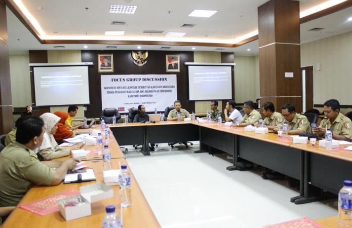 Bojonegoro Open System to guarantee transparency and public data